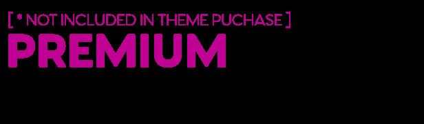 Premium addons in theme